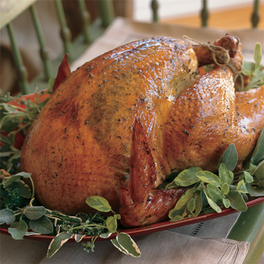 Tom Colicchio's Herb-Butter Turkey