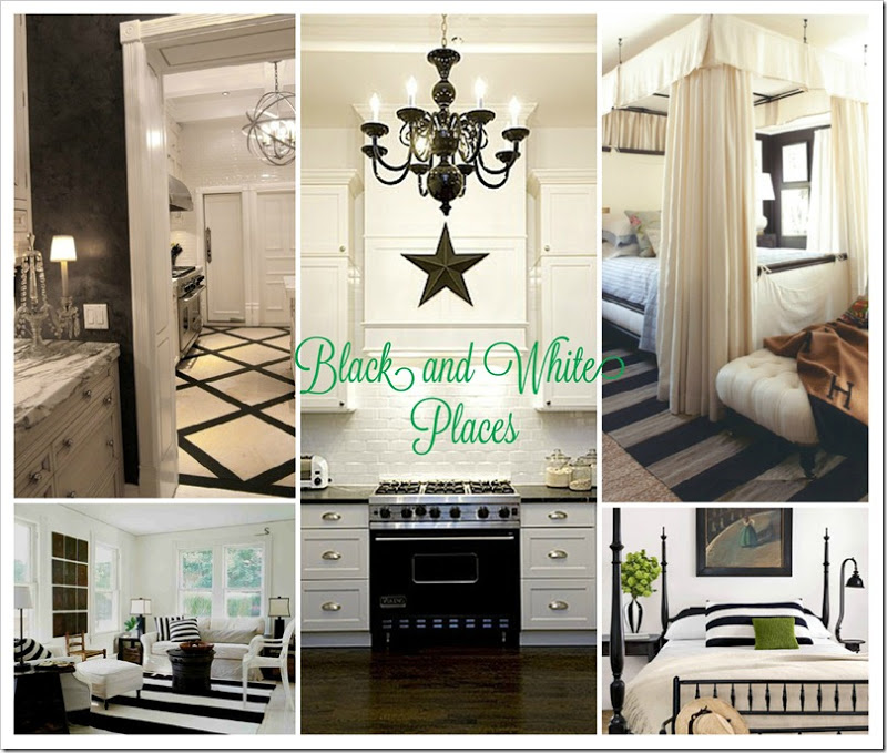 Black and White Bedrooms copy