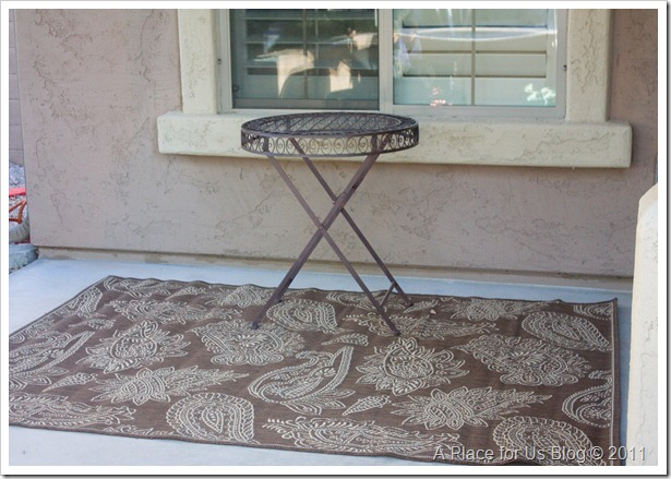 HomeGoods Outdoor Table
