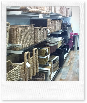 Homegoods Baskets