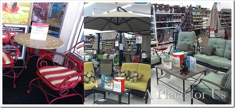 Kmart Outdoor Furniture