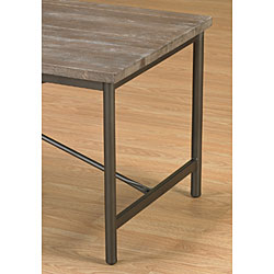 Elements Cross-design Grey Coffee Table