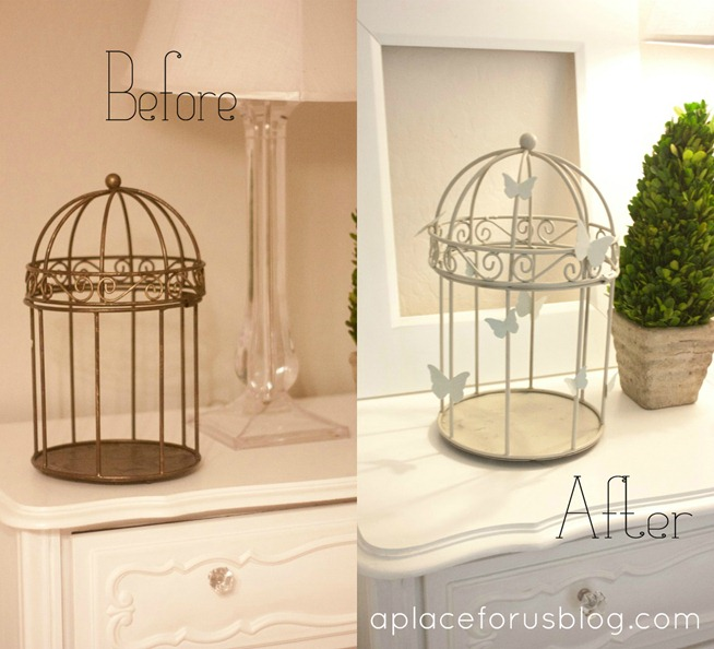 Pottery Barn Knockoff Cage copy
