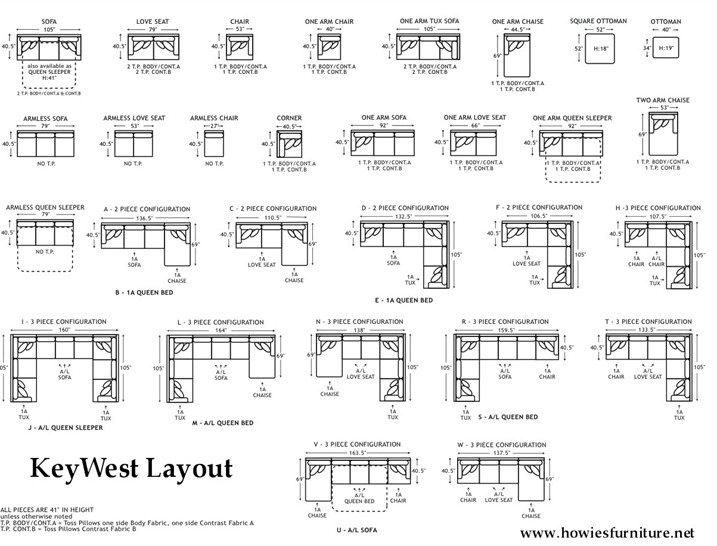 Robert-Michael-Key-West-Diagram-Layout-Dimensions