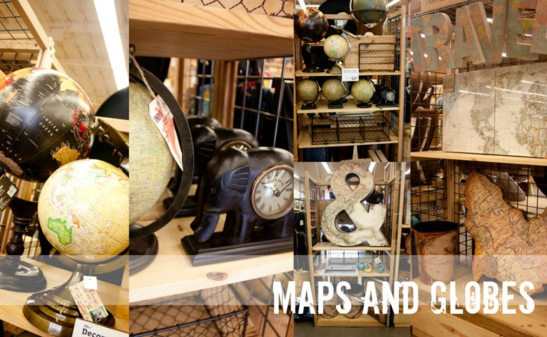 World Market Maps and Globes