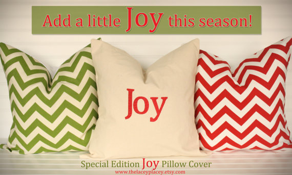 Monogrammed  Pillow Cover 18x18-Special Edition