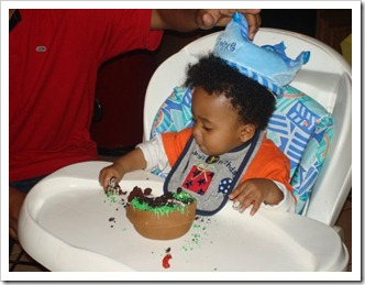mikels first Bday