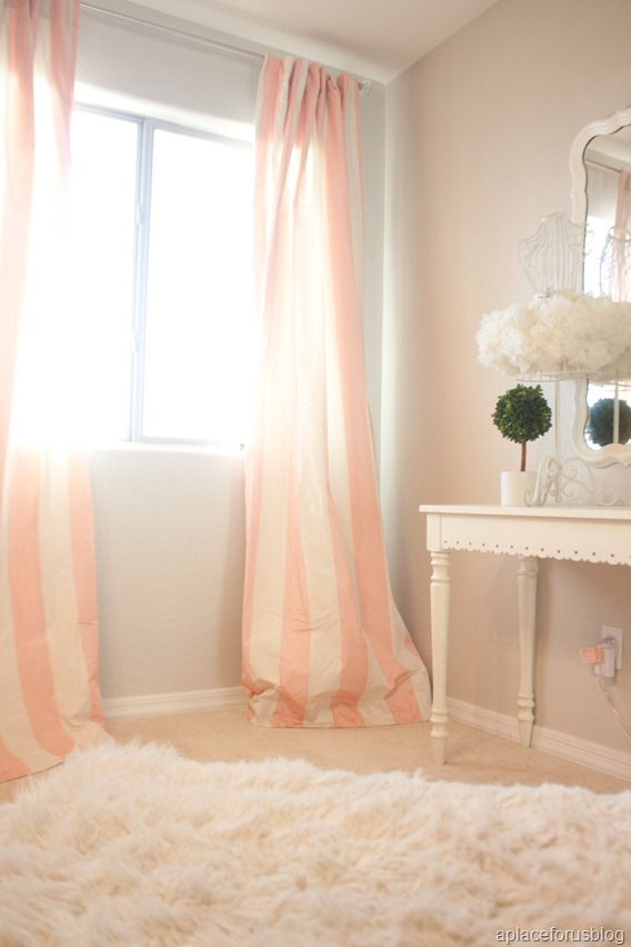 Pink and White Curtains-02