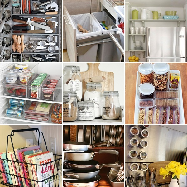 My style monday kitchen tool and organization just destiny - Organizer cucina ...