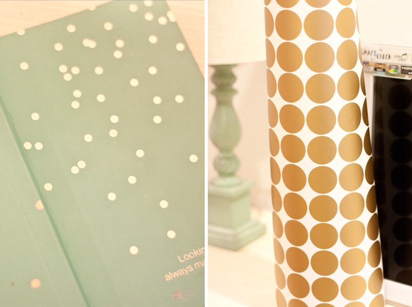 DIY Confetti Wall Justdestinymagcom - Wall decals gold dots