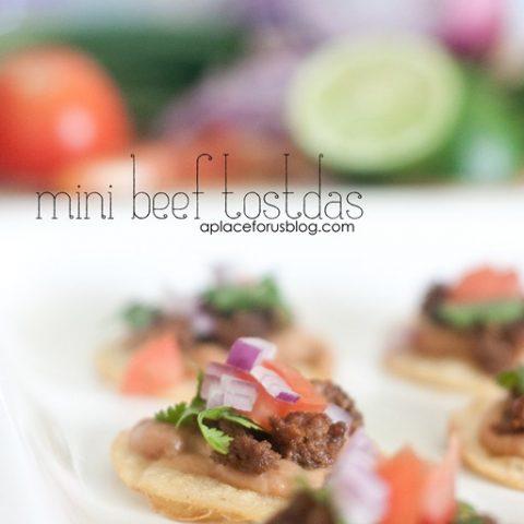 Mini Beef Tostadas