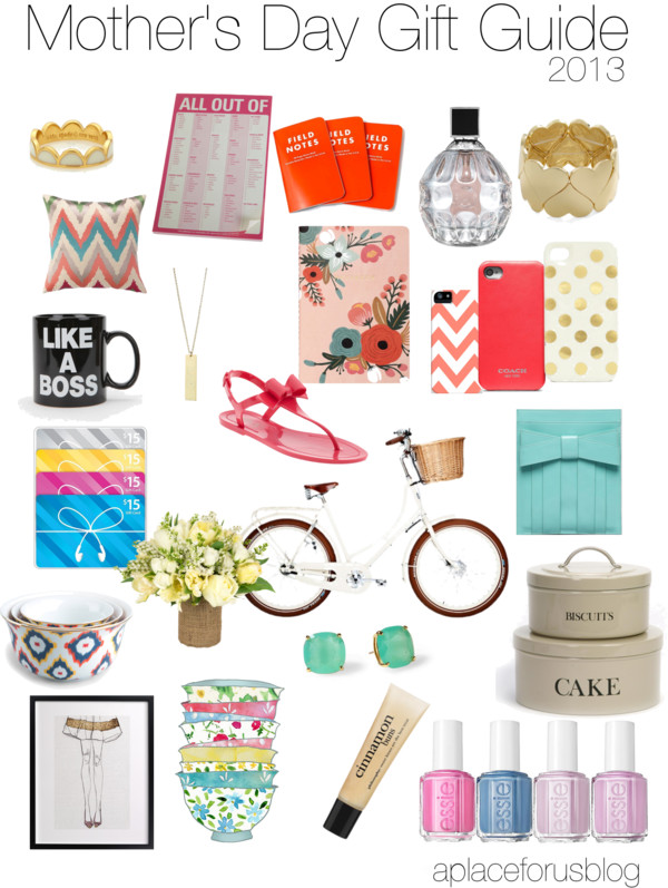 Mother's Day Gift Guide- A Place for Us Blog