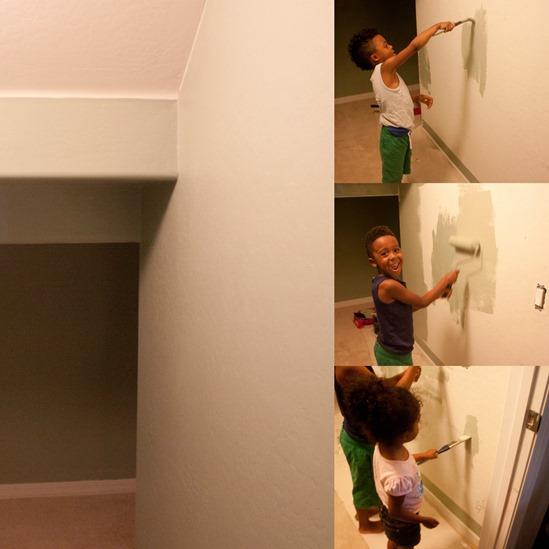 Painting the Hallway
