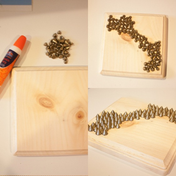 Stud Art Wall How to