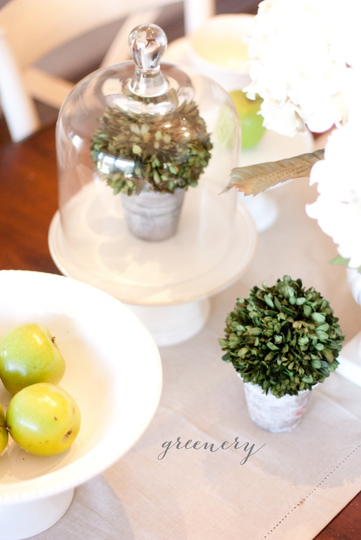 French Decor Greenery