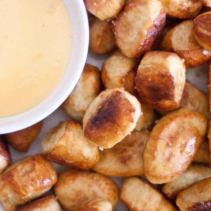 Buttered Soft Pretzel Bites