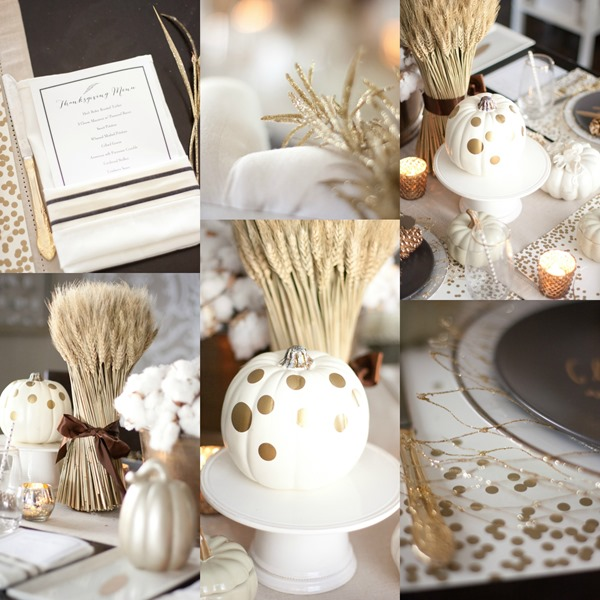 Thanksgiving Day Tablescapes