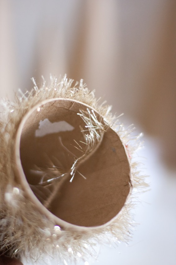 Eyelash Yarn Christmas Trees Holiday Crafts-6