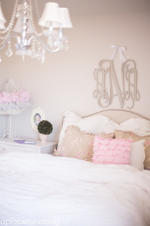 Little Girl Bedroom with New Arrivals