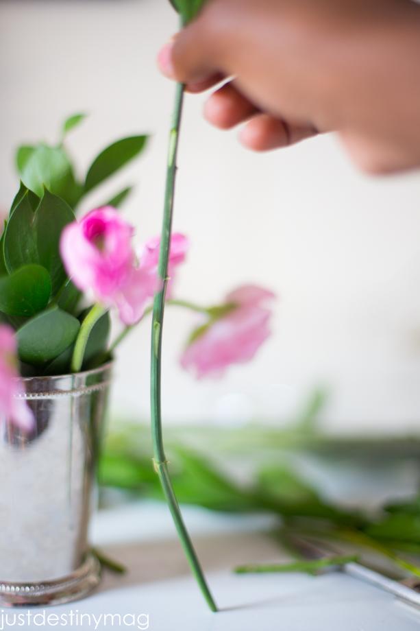 How to arrange a Flower Arrangments
