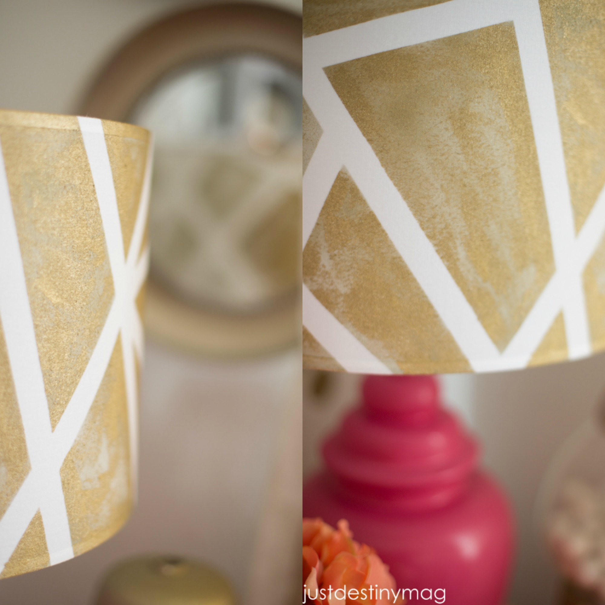 Just Destiny Mag DIY Lampshade
