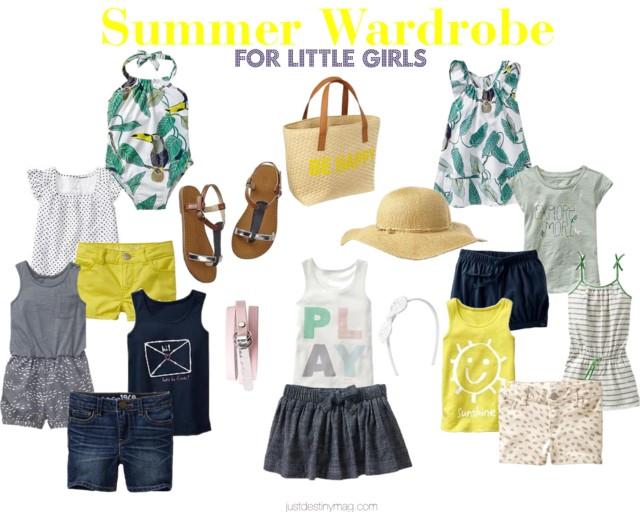 Summer Wardrobe for Little Girls