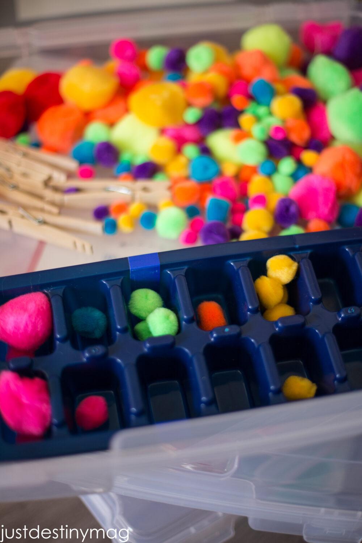 Easy Sensory Bins for Preschoolers!