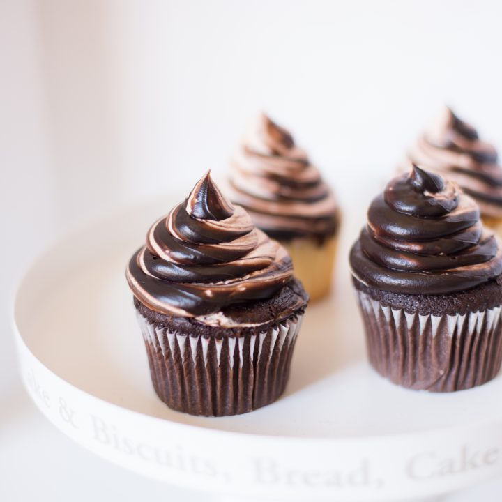Chocolate Fudge and Salted Caramel Flavored Frosting