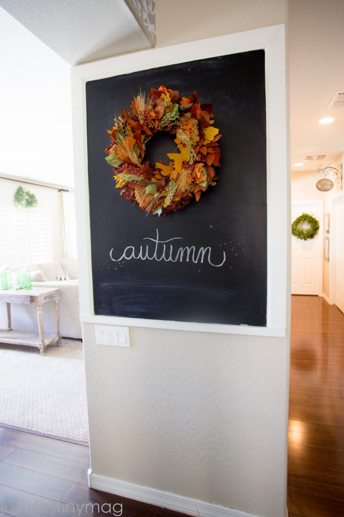 Easy Autumn Wreath -Just Destiny Mag