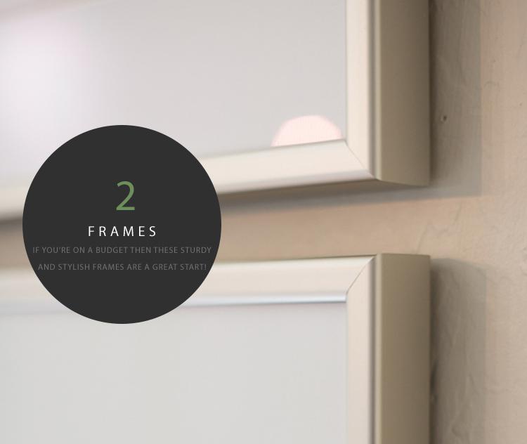 Affordable Framing at Michaels Stores