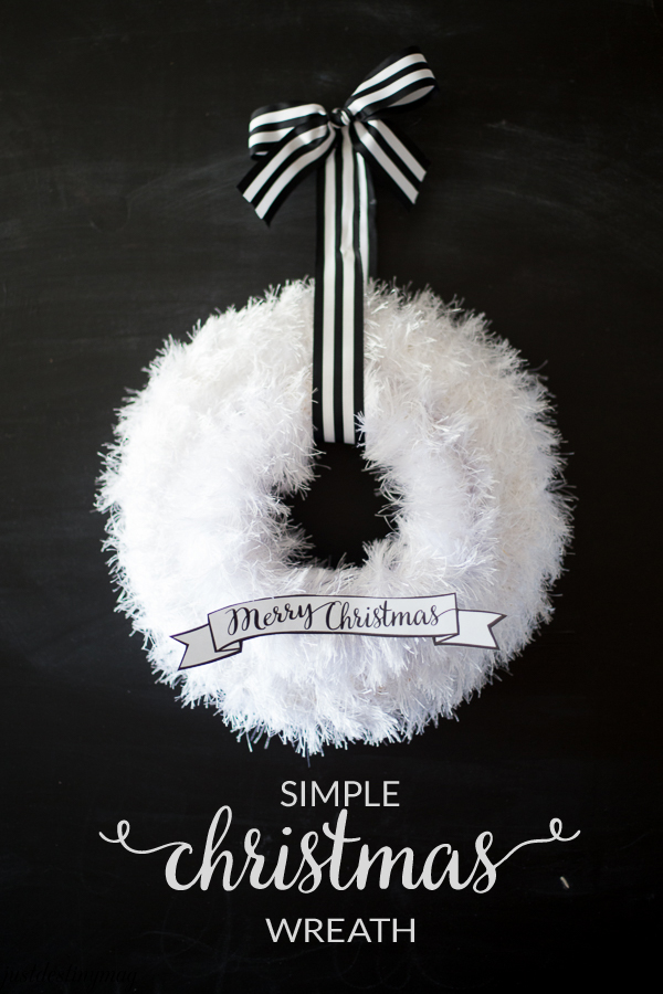 simple christmas wreath just destiny simple christmas wreath just destiny