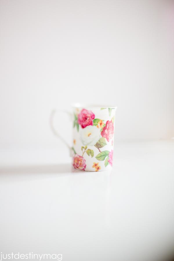 Floral Tea Cup - Just Destiny_