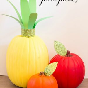 Fruity Pumpkins with Micheal's #trickyourpumpkin