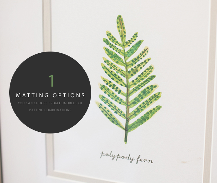 Matting Selections at Michaels Stores
