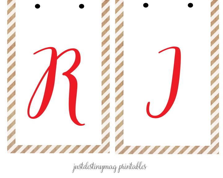 Christmas Banner Printable page2