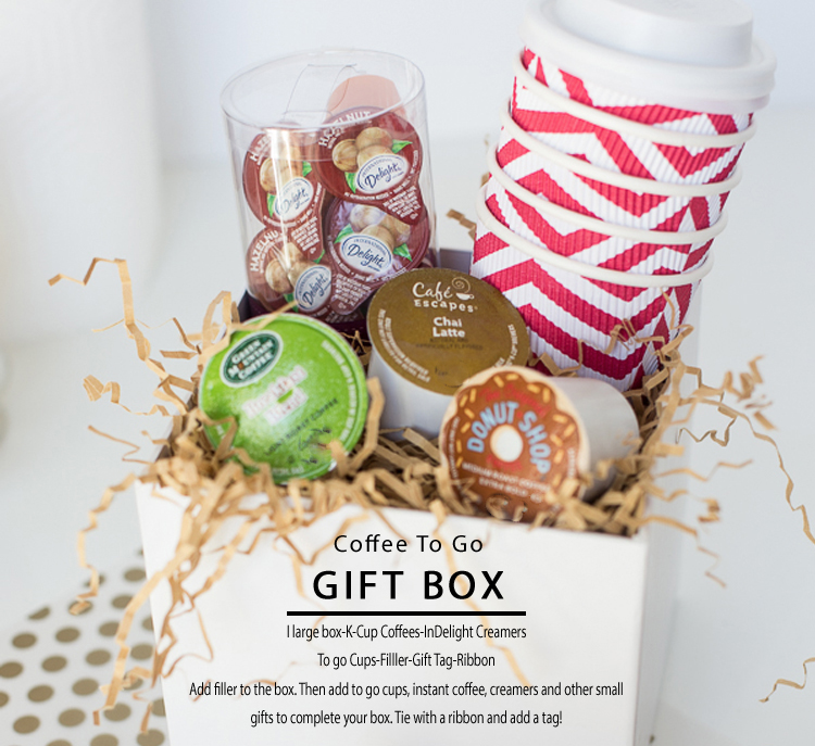 Gift Box for Coffee Lovers InDelight Creamers