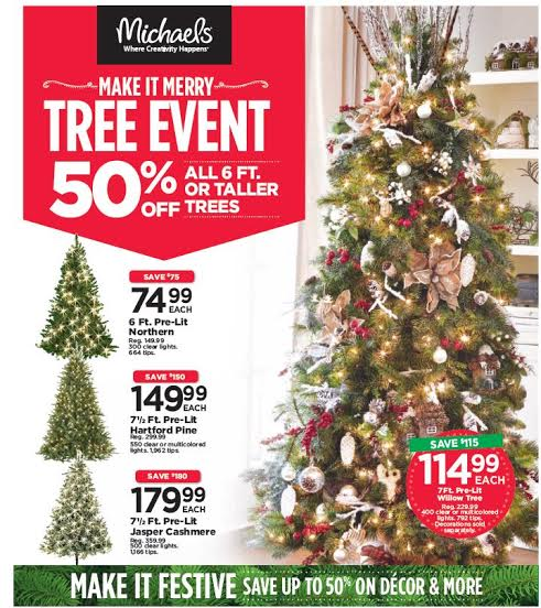 michaels christmas tree sale - Michaels Christmas Decorations 2017