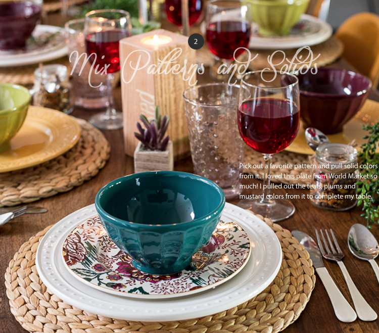 Setting your Thanksgiving Table