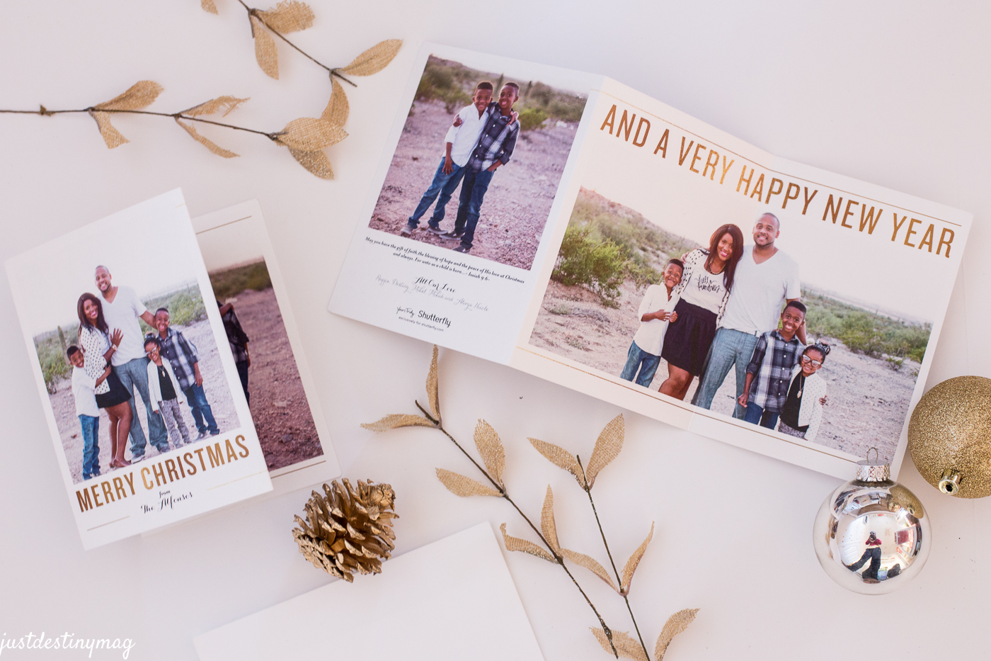 Christmas Cards By Shutterfly | Just Destiny