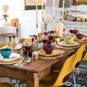 Thanksgiving Table with World Market and Friends