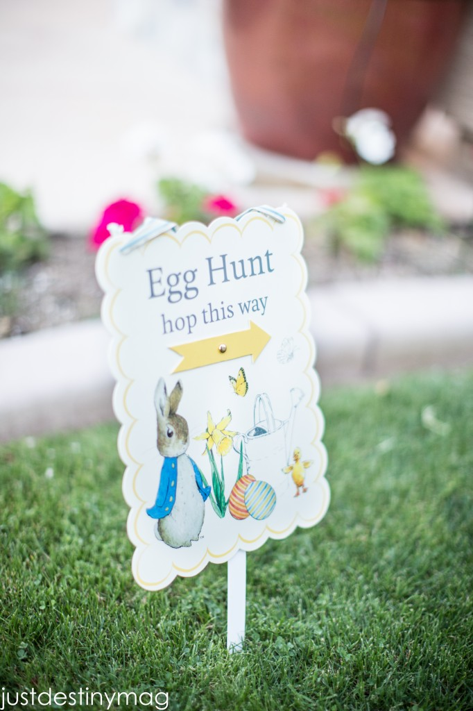 Easter Hunt Signs for the Yard_