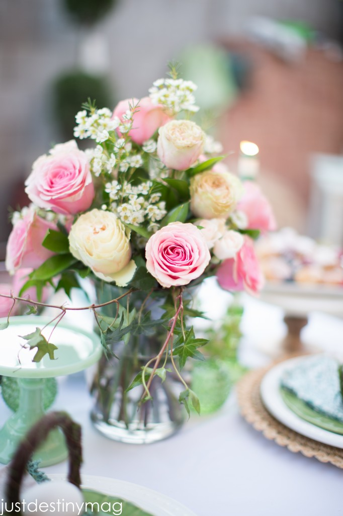 Easter Table Florals