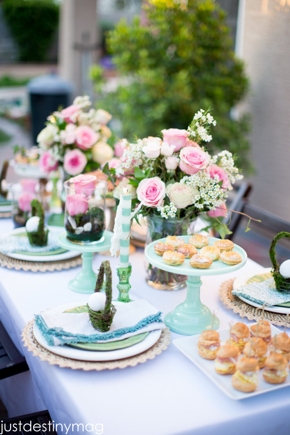 Setting an Easter Table with World Market