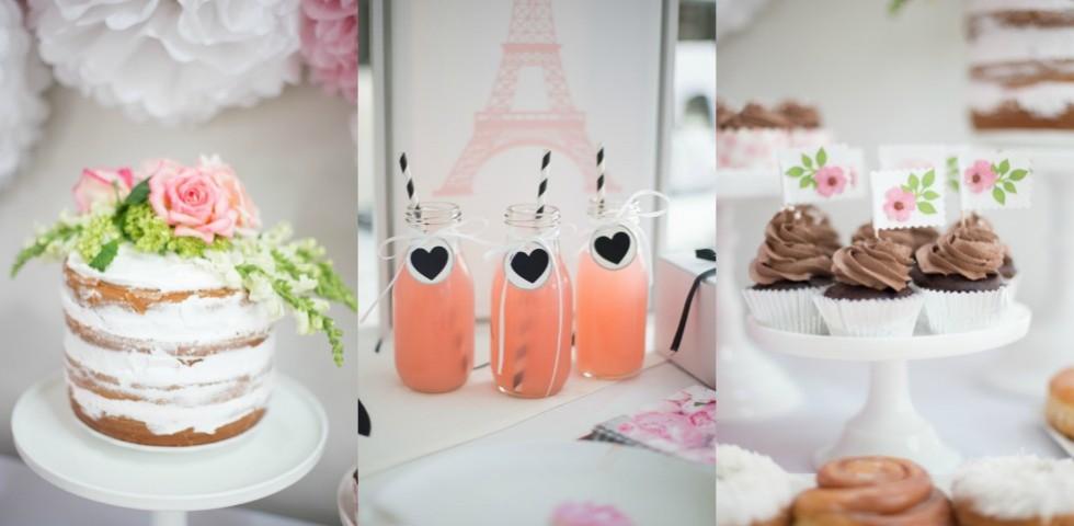 Springtime in Paris Party Ideas