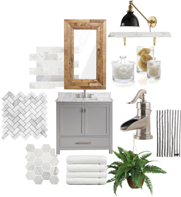 The Perfect Powder Room and My Plans