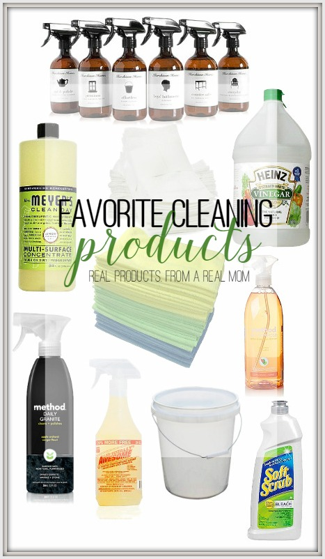 My Favorite Cleaning Products from a real mom