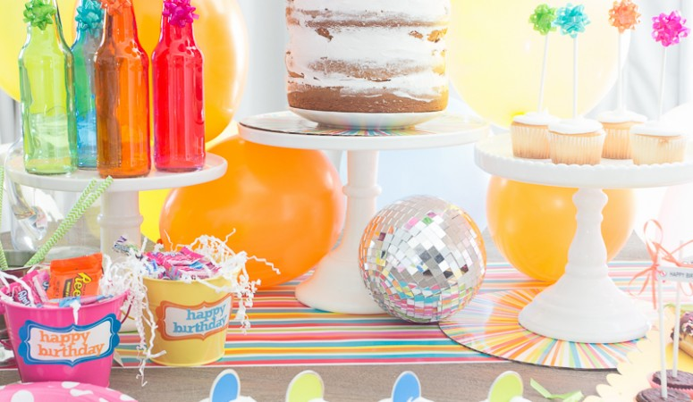 Celebrate! Colorful Summer Birthday Party Ideas
