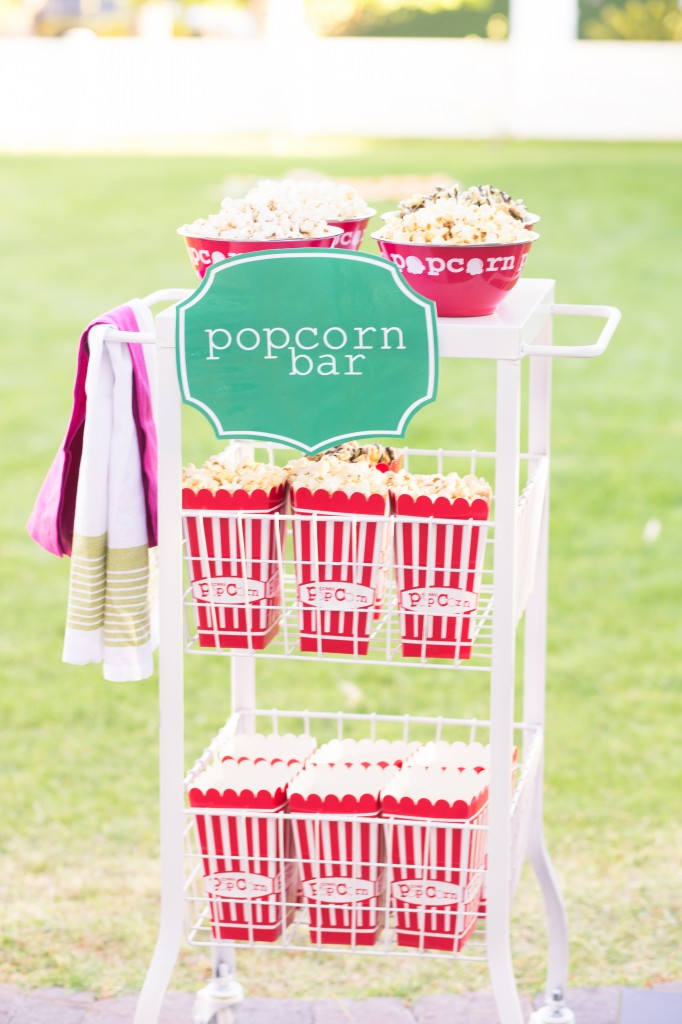 Simple DIY Popcorn Bar with Recipes
