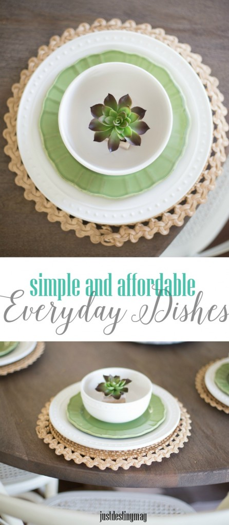 Simple and Affordable Everyday Dishes