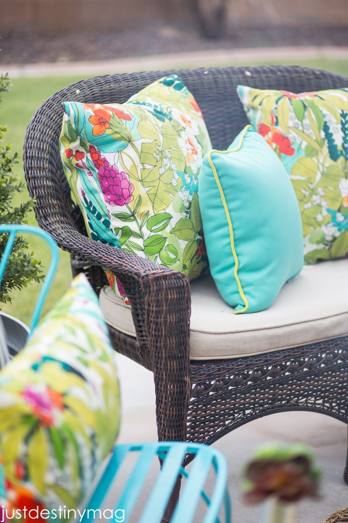 World Market Outdoor Pillows